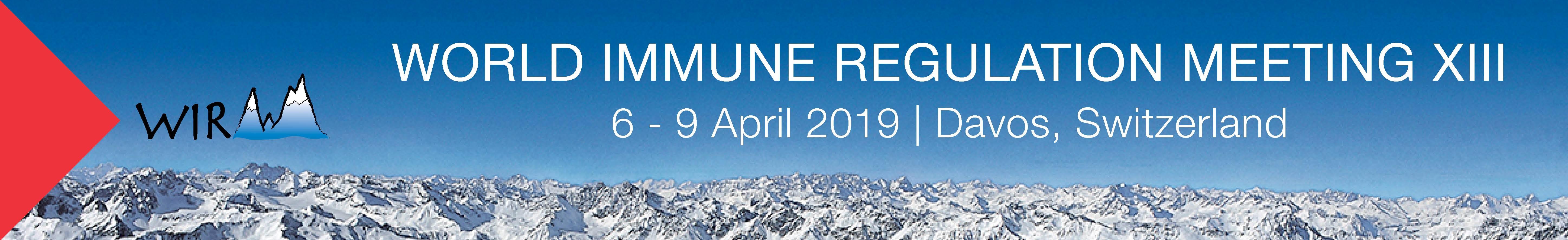 WIRM Meeting Davos 6 - 9 April 2019 Davos